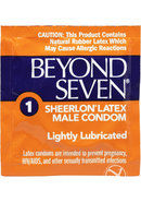 Beyond Seven Condoms 12pk