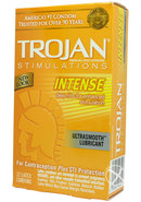 Trojan Intense Ribbed 12`s