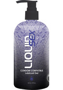Liquid Sex Condom Compat Lube 16oz Pump