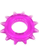 Stud Elastomer C Ring - Purple