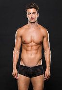 Microfiber Trunk L/xl Stripe Black