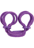 Japanese Ankle Cuffs Purple