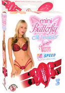 Mini Butterfly Clit Teaser Pink