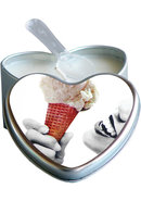 Edible Heart Candles Vanilla