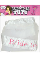 Bride To Be Tutu White