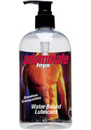 Adam Male Water Based Lube 16oz