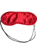 Sandm Satin Blindfold Red