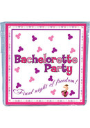 Bachelorette Party Trivia Napkins 10pc
