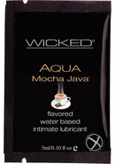 Wicked Aqua Mocha Java Foil 144/bag