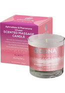 Massage Candle Blushing Berry 4.75floz