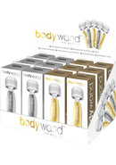 Bodywand Mini Silver/gold - 12/display