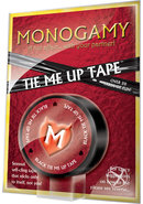 Monogamy Tie Me Up Tape Black (disc)
