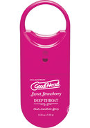 Goodhead Deep Throat To Go Strawberry
