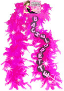 Flashing Bachelorette Pink Boa
