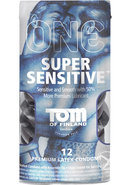Tof Super Sensitive Condoms 12pk
