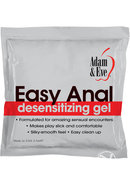Aande Easy Anal Foil Pack 2.5ml