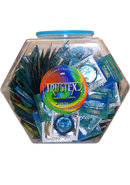 Trustex Lubed Asst Colors 288pcs