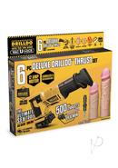 Drilldo Deluxe Thrust 6pc Starter Set