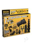 Drilldo Dp Deluxe Thrust 7pc Set