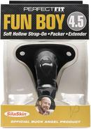 Buck Angel Fun Boy 4.5 Strap On Black