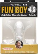 Buck Angel Fun Boy 4.5 Strap On Clear