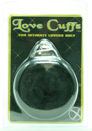 Plush Love Cuffs Black
