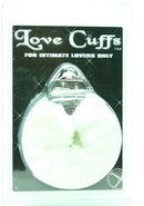 Plush Love Cuffs White