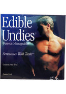 Edible Undies Male Passion Fruit