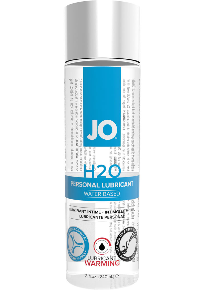 Jo H2o Lube Warming 8oz