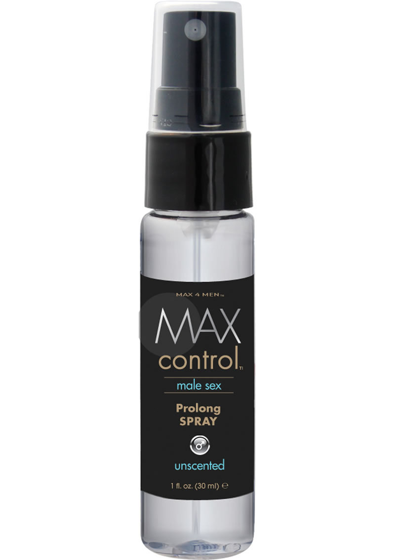 Max Control Prolong Spray 1oz