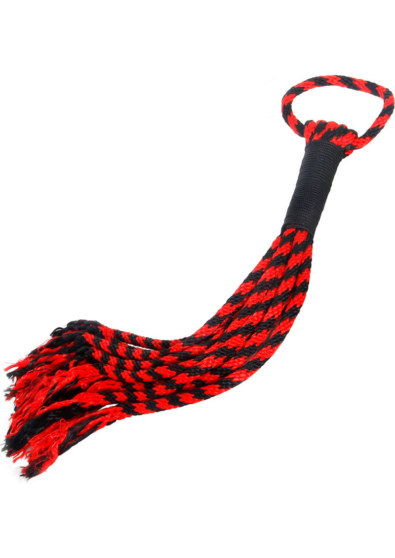 A And E Scarlet Rope Flogger