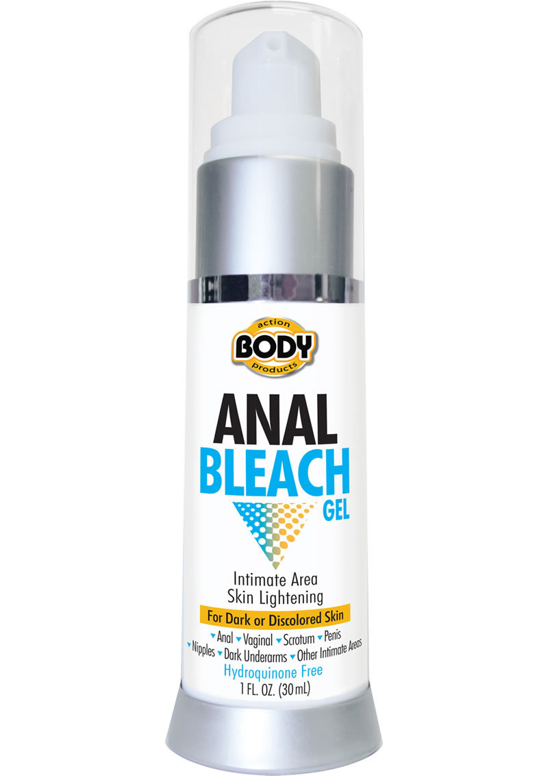 Body Action Anal Bleach Gel 1oz Bottle