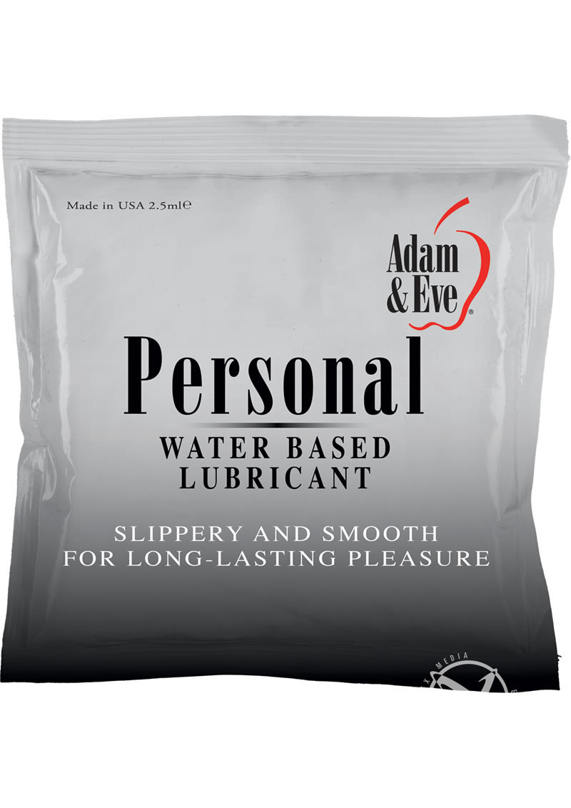 A And E Personal Lube Foil Pack 2.5 Ml