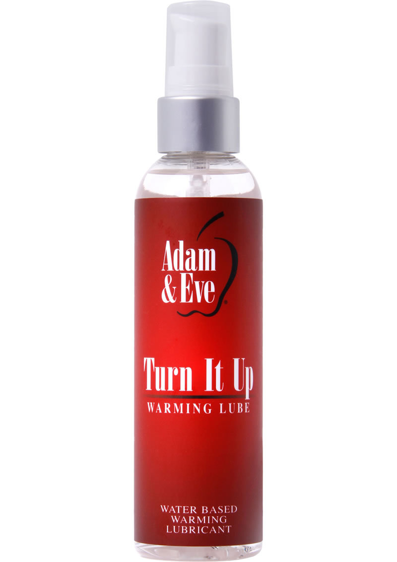 A And E Turn It Up Warming Lube 4oz