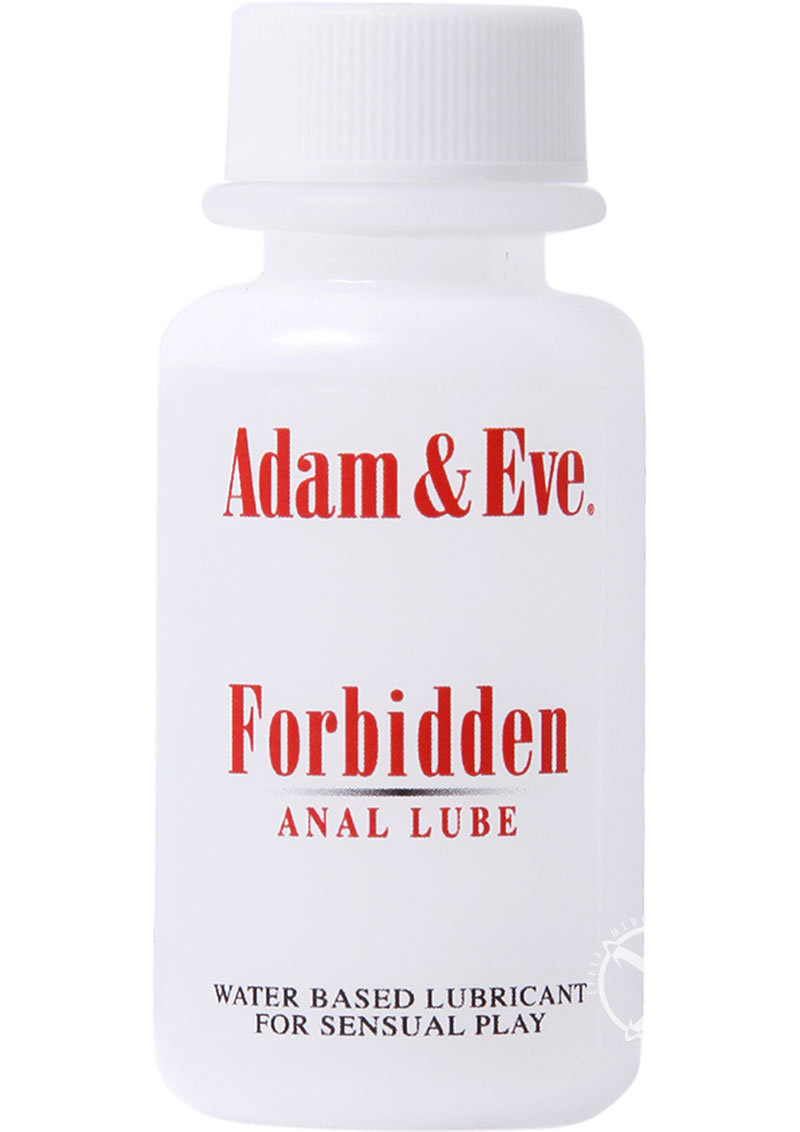 A And E Forbidden Anal Lube 1oz