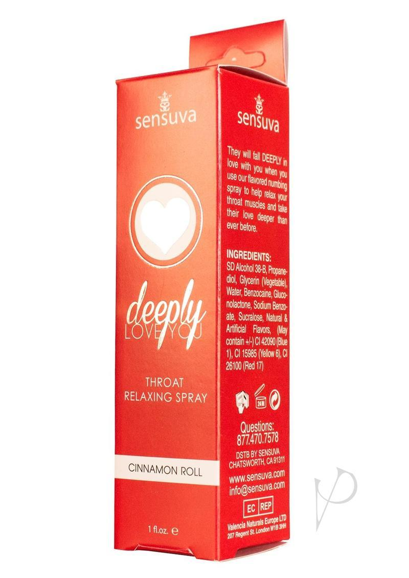 Deeply Love Throat Spray Cinnamon 1oz