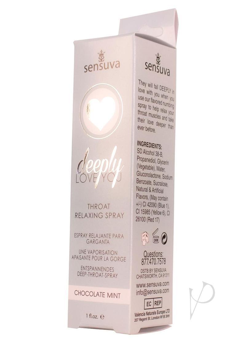 Deeply Love Throat Spray Chocolate Mint